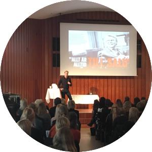 Linus Holmgren från Talent Talk pratar om Employer Branding och rekrytering under ReachMee-dagen