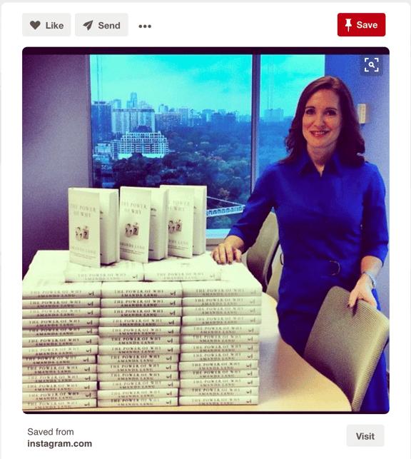 Exempel på Employer Branding med hjälp av Pinterest av företaget Harper Collins