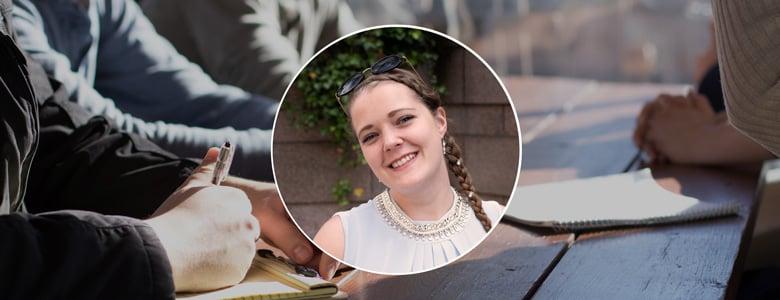 Fem snabba med Linnea Holm - böckerna om rekrytering du inte får missa