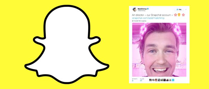 Stärk ert Employer Brand med Snapchat. Exempel från MailChimp