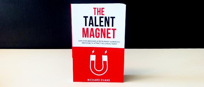 En bild på veckans boktips: The Talent Magnet