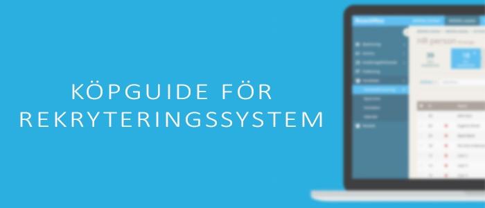 Ladda ner en guide fylld med tips för att köpa rekryteringssystem