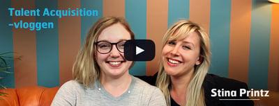 2. Talent AcquisitionVloggen– avsnitt 1 med Stina Printz