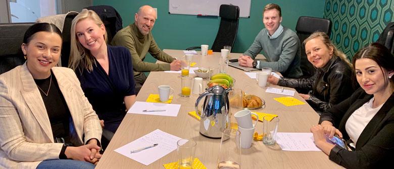 Bilde av tidligere workshopdeltagere